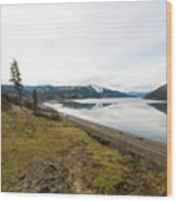 Reflections Of Mosier Wood Print