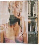 Reflections Of Paris Wood Print