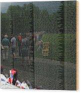 Reflections Of Sacrifice Wood Print