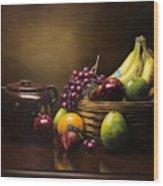 Reflections On A Bean Pot Wood Print