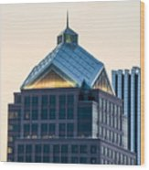 Reflections On Legacy Tower Wood Print