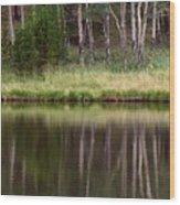 reflections RIV M 2 Wood Print