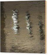 The Canal Saint Martin # 1. Wood Print