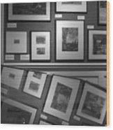 Reflective Art 1 Wood Print