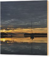 Reflextions Wood Print