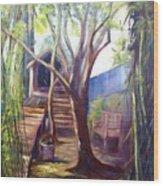 Refugio Wood Print