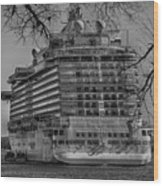 Regal Princess Hamilton Wood Print