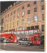 Regent Street  Wood Print