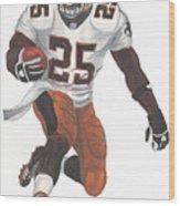 Reggie Bush New Orleans Saints Wood Print