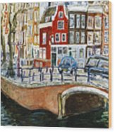 Reguliersgracht Wood Print