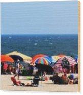Rehobath Beach Wood Print