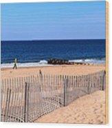 Rehoboth Beach Panorama Wood Print