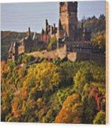 Reichsburg Castle Wood Print
