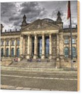 Reichstag Building  Wood Print by Jon Berghoff