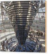 Reichstag In Berlin Wood Print