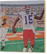Florida - Tennessee Football Wood Print