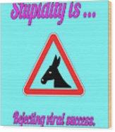 Rejecting Bigstock Donkey 171252860 Wood Print