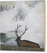 Relaxing Wood Print