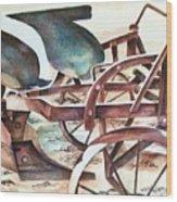 Relic Wood Print