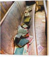 Religion Abandonded Wood Print