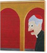 Religion Wood Print by Sal Marino