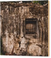 Remaining Ruins Wood Print
