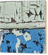 Remains Of A Door Wood Print