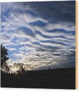 Remarkable Sky Wood Print