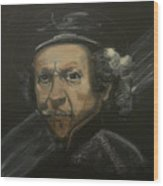 Rembrandt And Colour Wood Print