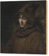 Rembrandt's Son Titus In A Monk's Habit Wood Print