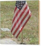 Remember Our Veterans Wood Print