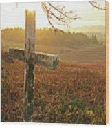 Remembered Wood Print