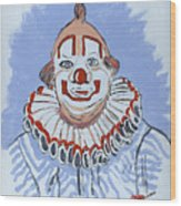 Remembering Clarabelle The Clown Wood Print