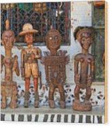 Remembering Mombasa Wood Print by Irene Abdou