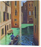 Remembering Venice Wood Print
