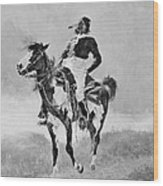 Remington: Comanche, C1890 Wood Print