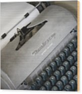 Remington Quiet Riter Wood Print