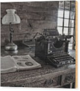 Remington Standard  Wood Print
