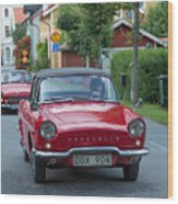 Renault Caravelle Wood Print