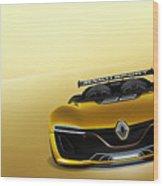 Renault Sport Spider 4k Wood Print