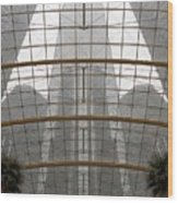 Rencen From Within Wood Print