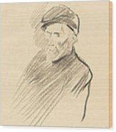 Renoir (first Plate) Wood Print