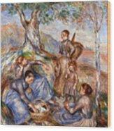 Renoir: Grape Pickers Wood Print