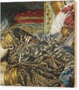 Renoir: Odalisque, 1870 Wood Print