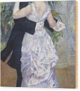 Renoir: Town Dance, 1883 Wood Print