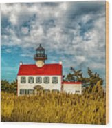 Renovated East Point Lighthouse Wood Print