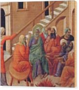 Renunciation Of Peter 1311 Wood Print