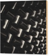 Repeating Patterns Wood Print