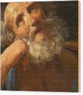 Repentant Peter 1637 Wood Print