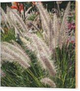 Reptile Garden Plantsi Wood Print
